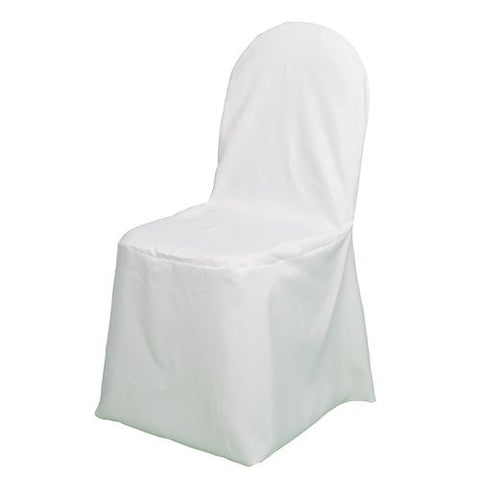 Richland Banquet Chair Cover White Set Of 10