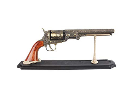 Us Decorative Western Style Navy Revolver Display