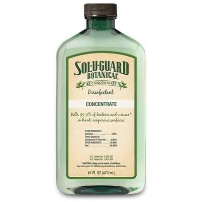 Sol-U-Guard Botanical Disinfectant Concentrate 16 Oz.