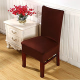My Decor Super Fit Stretch Removable Washable Short Dining Chair Protect Cover Slipcover Style 21,