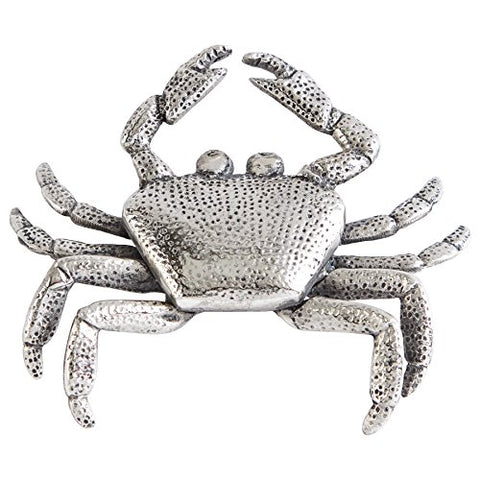 Mud Pie 4941013C Crab Bottle Opener, Silver