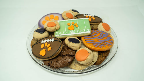 Football Cookie Tray
