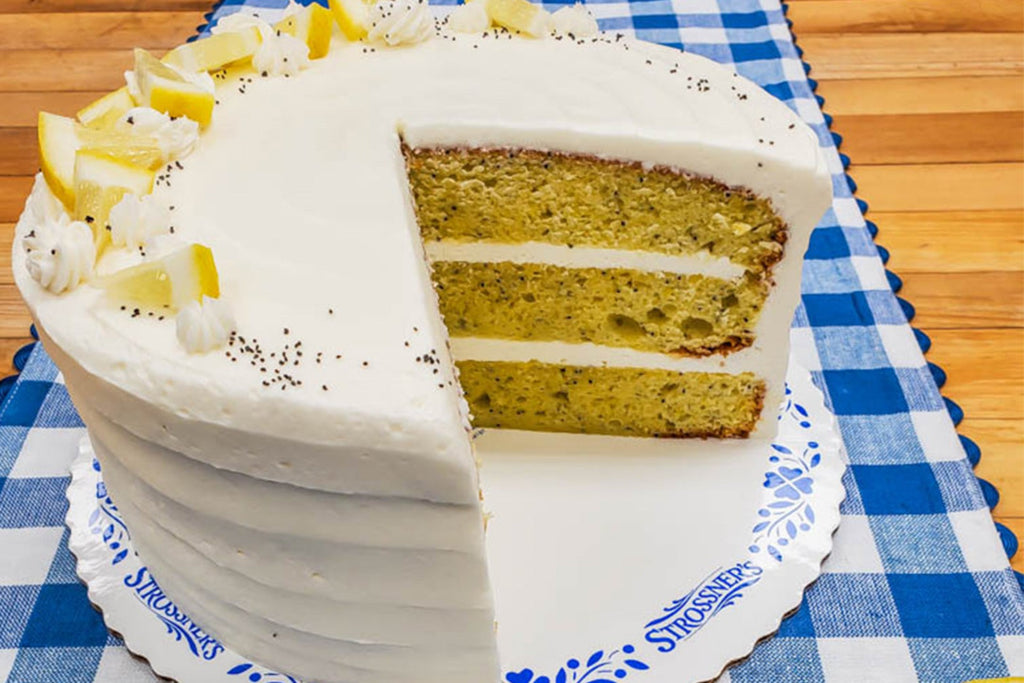 Lemon Poppy Torte