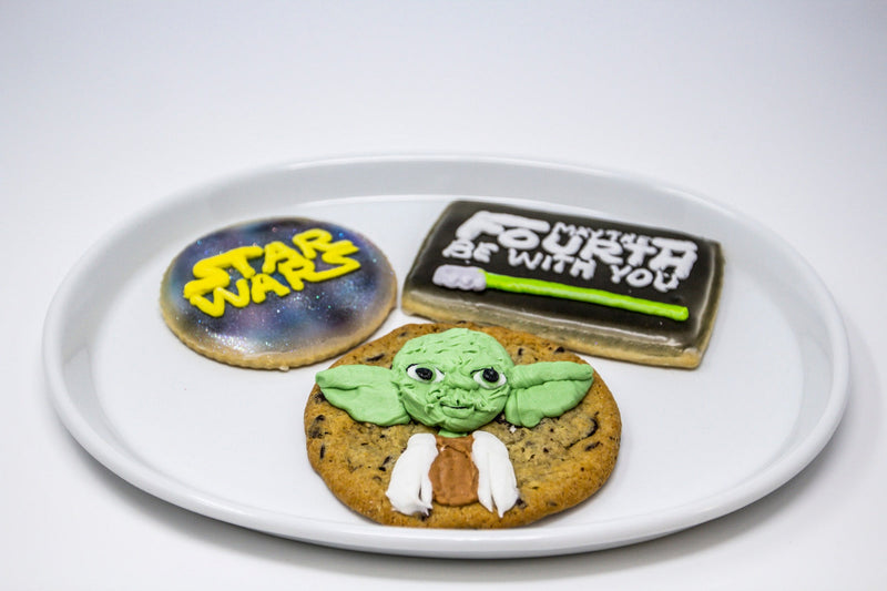 Star Wars Chocolate Chip Cookies