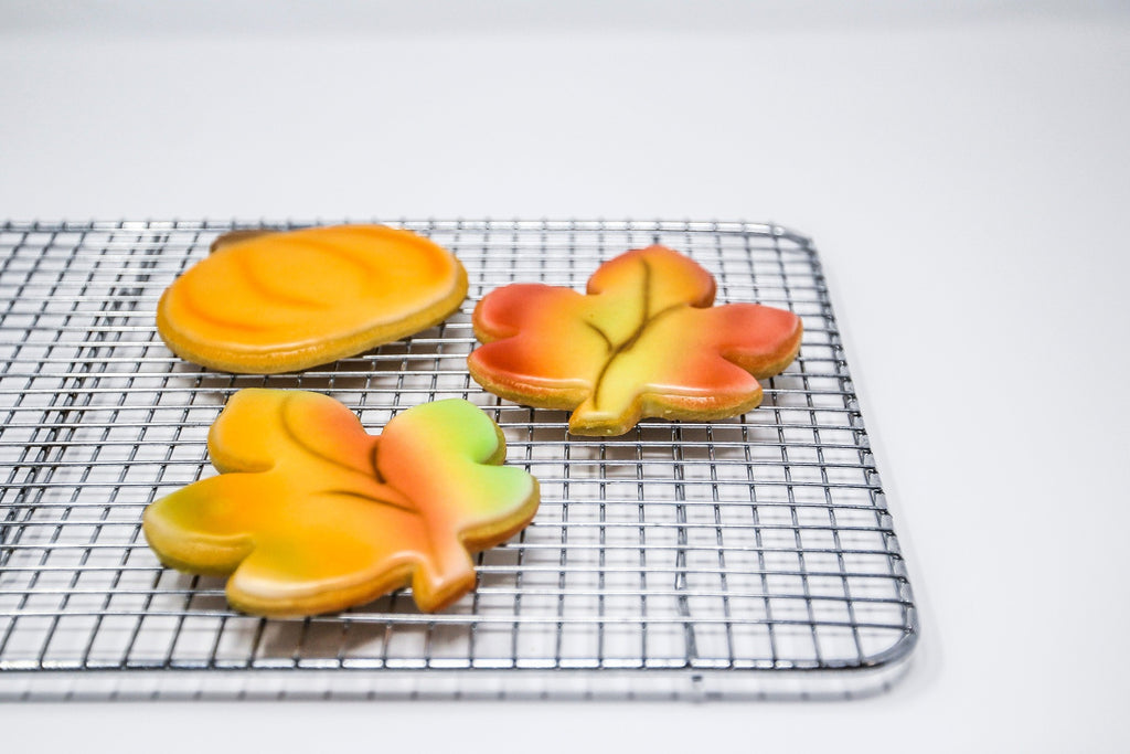 Fall Fondant dipped sugar Cookies