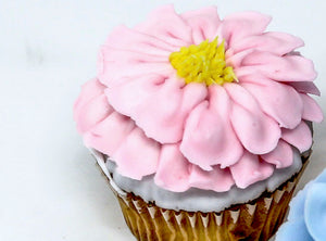 Decorated Flower Cupcakes