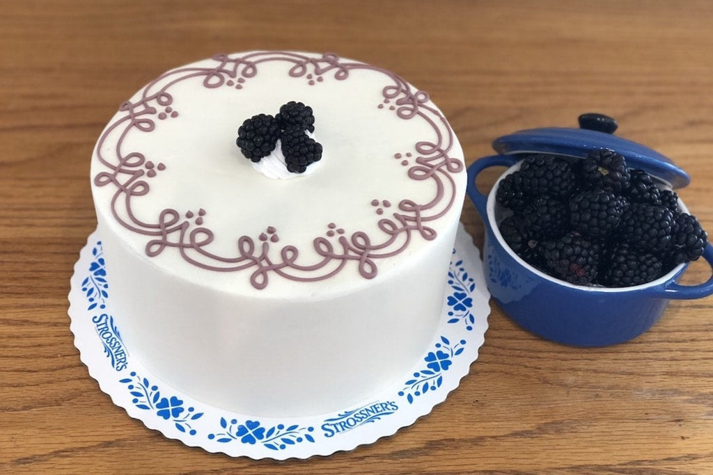 Blackberry Brandy Torte