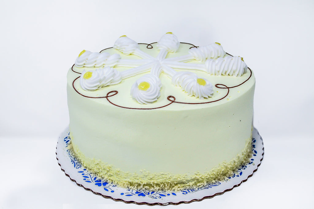 Lemon Cream Torte