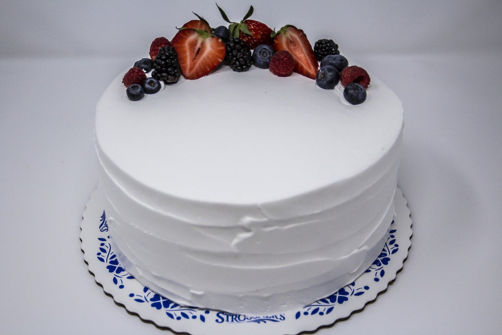 Fresh Fruit Tres Leches Cake