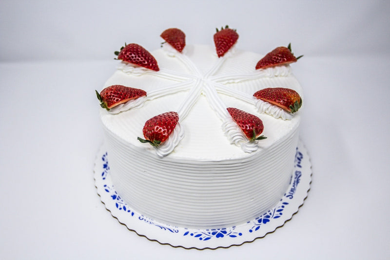 Strawberry Bavarian Torte