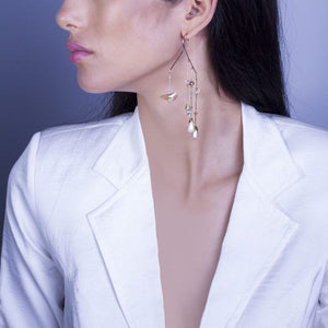 Bejewelled Twist : Statement earrings