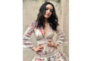 Shraddha Kapoor - Glide rose falcon ring