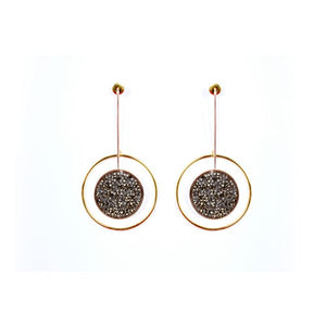 Night Sky : Statement earrings