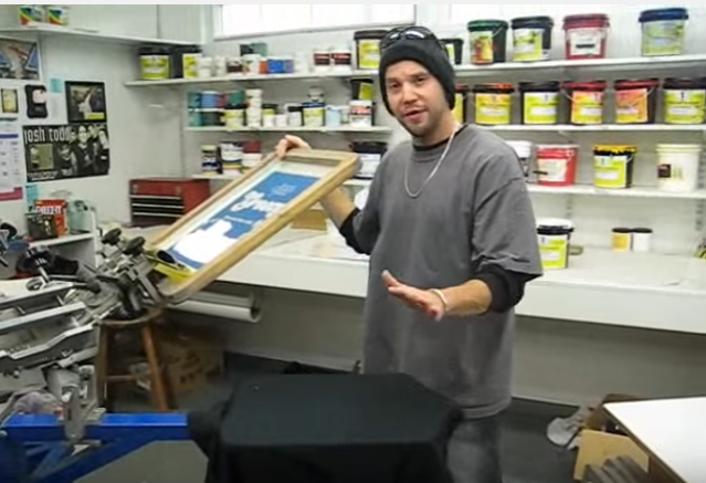 HOW TO: Screen Print Custom T-Shirts - Part 1