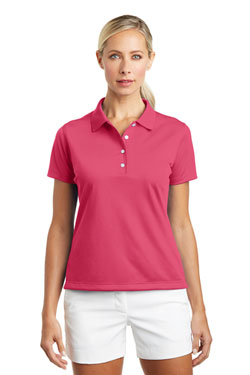 Nike Ladies Tech Basic Dri-FIT Polo With Logo