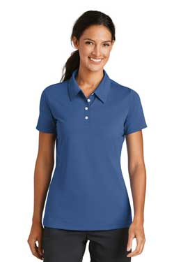 Custom Ladies Nike Sphere Dry Diamond Polo With Logo