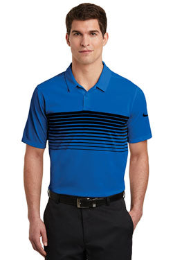 Nike Dri-FIT Chest Stripe Polo With Logo