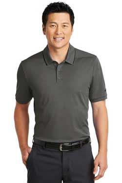 Nike Dri-FIT Edge Tipped Polo With Logo