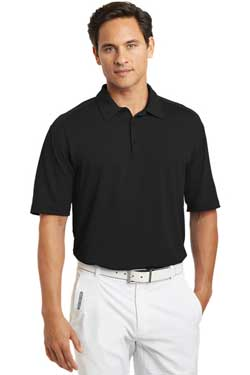 Nike Dri-FIT Mini Texture Polo With Logo