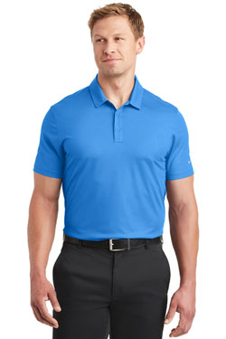 Nike Dri-FIT Embossed Tri-Blade Polo With Logo