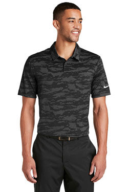 Nike Dri-FIT Waves Jacquard Polo With Logo