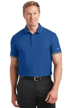 Nike Dri-FIT Stretch Woven Polo With Logo