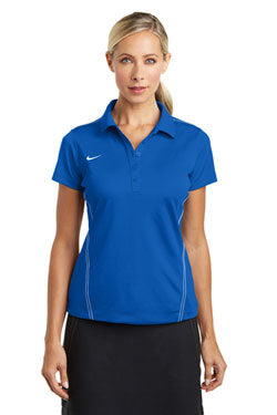 Nike Dri-FIT Ladies Sport Swoosh Pique Polo With Logo