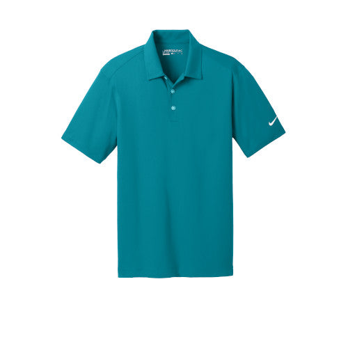 Blustery Nike Dri-FIT Mesh Golf Shirt With Logo
