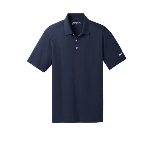 Marine Nike Dri-FIT Mesh Golf Shirt With Logo