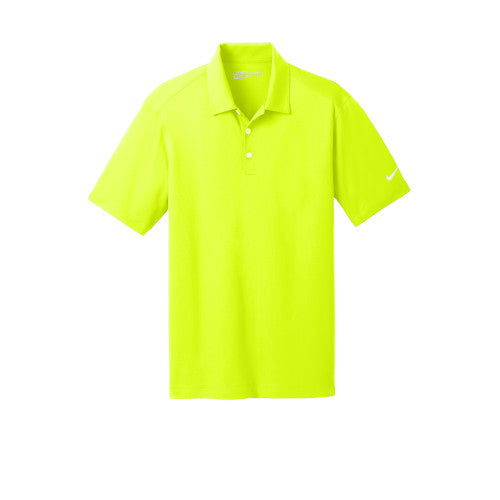 Volt Nike Dri-FIT Mesh Golf Shirt With Logo