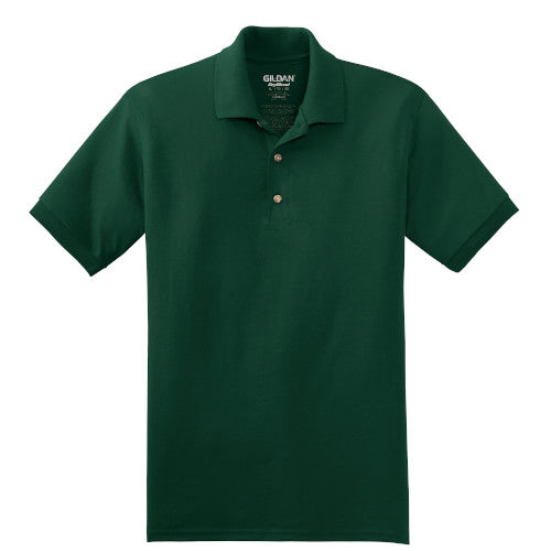 Forest Jersey Knit Polo Shirt With Logo