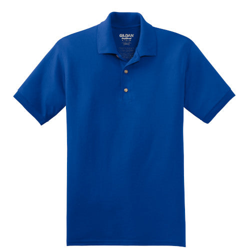 Royal Jersey Knit Polo Shirt With Logo
