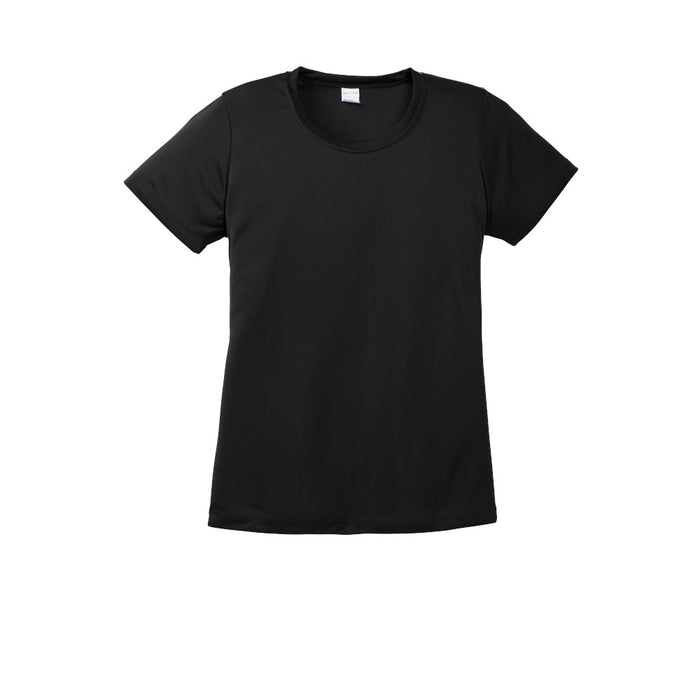 Black Custom Ladies Dry Performance T-Shirt