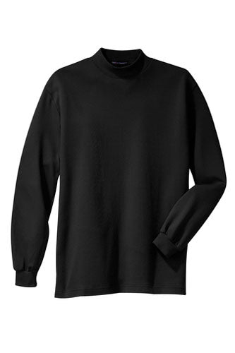 Black Custom Mock Turtleneck