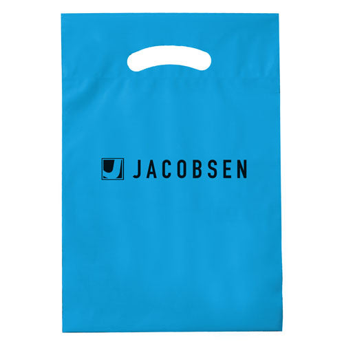 Blue Custom Promotional Plastic Bag