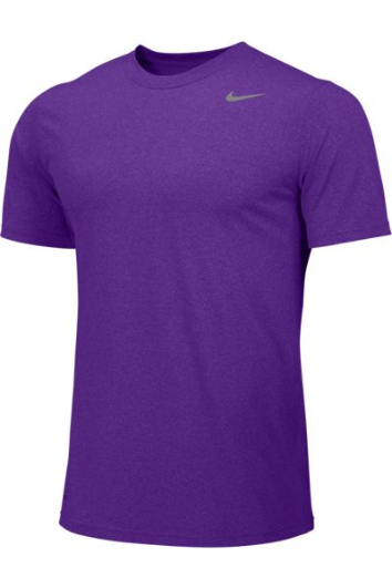 Court Purple Custom Nike Dri-FIT T-Shirt