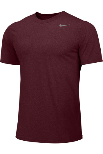 Deep Maroon Custom Nike Dri-FIT T-Shirt
