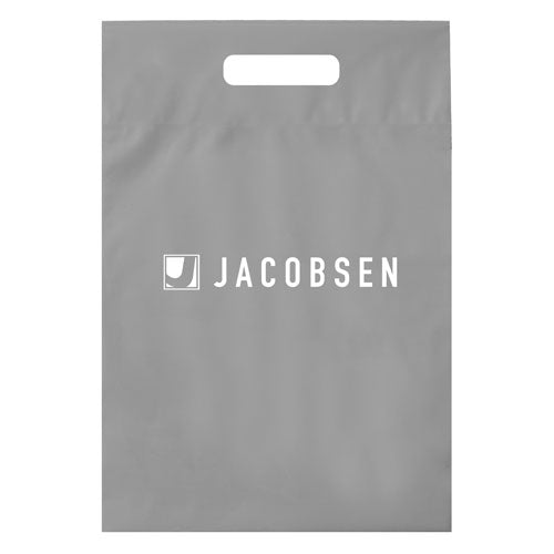 Gray Custom Promotional Plastic Bag