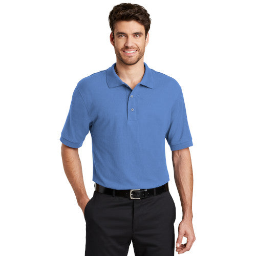 Port Authority Silk Touch Polo With Logo