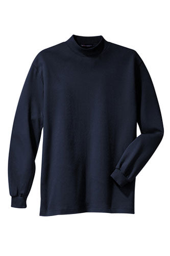 Navy Custom Mock Turtleneck