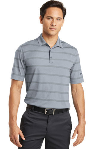 Nike Dri-FIT Fade Stripe Polo WIth Logo