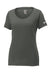 Anthracite Custom Nike Ladies Cotton T-Shirt