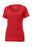 Gym Red Custom Nike Ladies Cotton T-Shirt