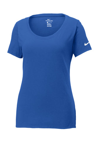 Rush Blue Custom Nike Ladies Cotton T-Shirt