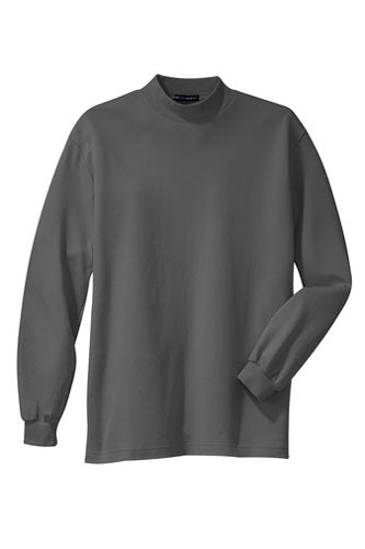 Grey Custom Mock Turtleneck