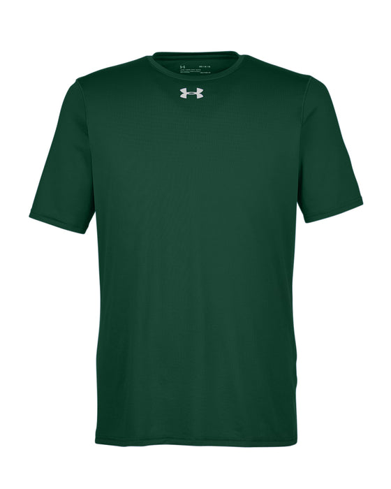 Forest Green Custom Under Armour Performance T-Shirt