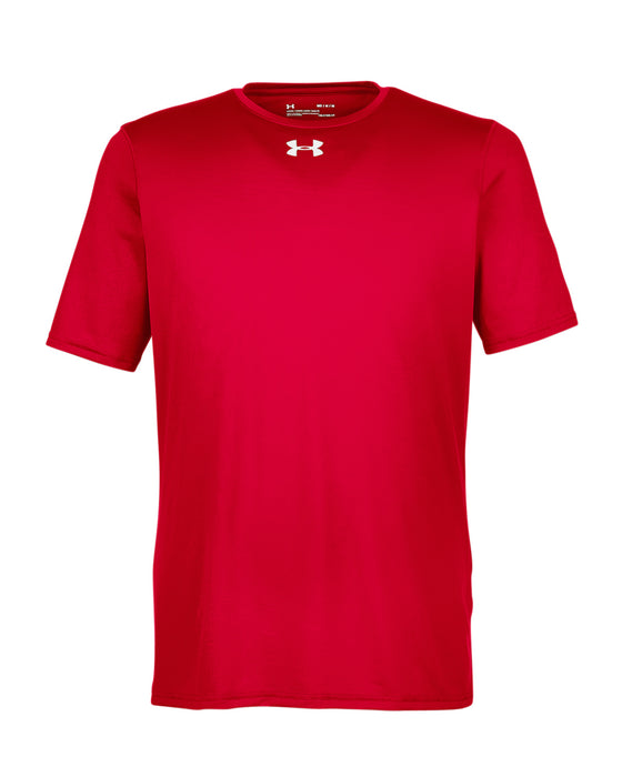 Red Custom Under Armour Performance T-Shirt