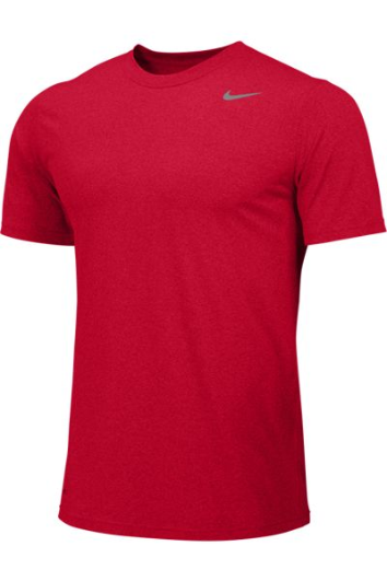 University Red Custom Nike Dri-FIT T-Shirt