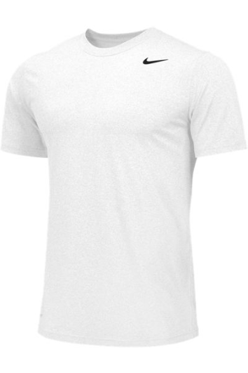White Custom Nike Dri-FIT T-Shirt