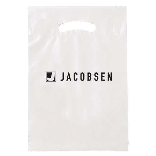 White Custom Promotional Plastic Bag